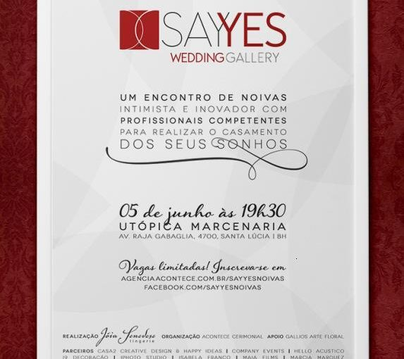 Evento para noivas :: Say Yes Wedding Gallery
