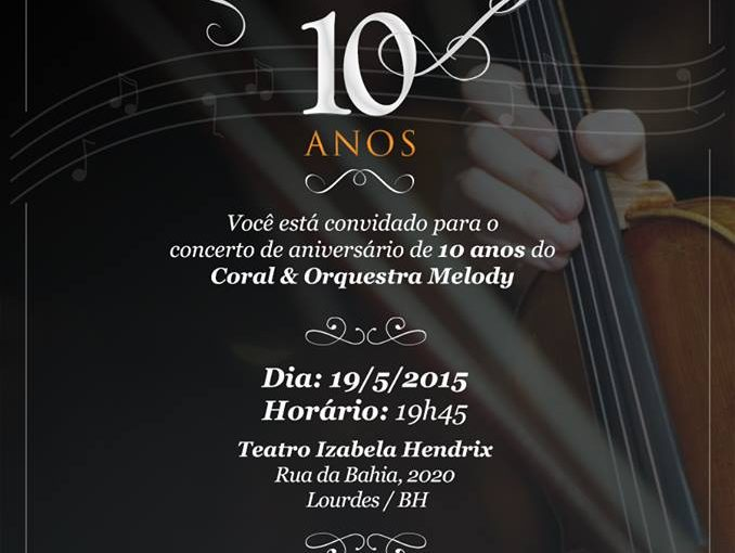 Melody in Concert :: 10 anos