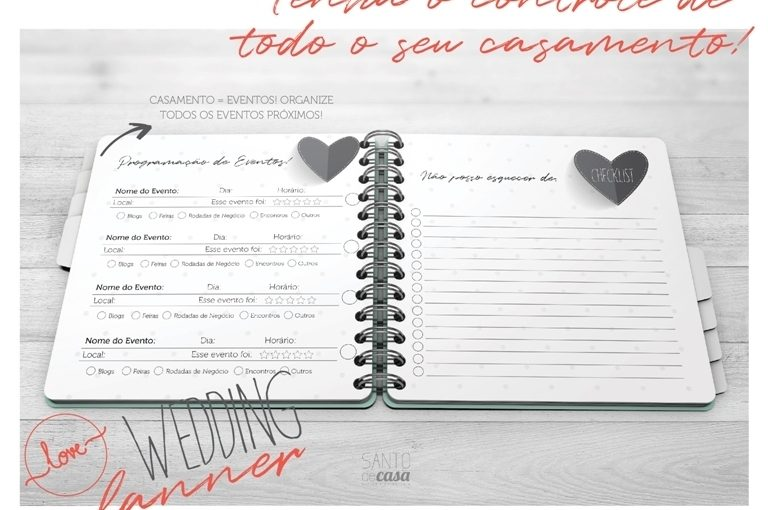 Sorteio :: Wedding Planner by Santo de Casa Design
