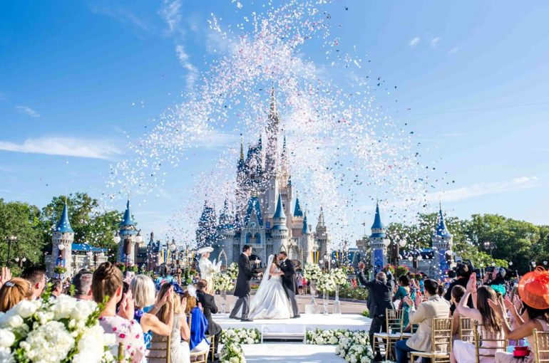 Destination wedding na Disney